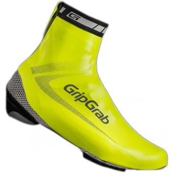 Grip Grab Race Aqua Shoe Covers Hi-Vis Yellow