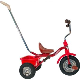 """Italtrike 12"""" Pneumatic Tyres Tricycle Monza Red"""