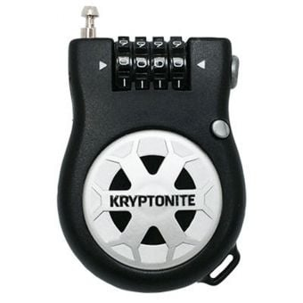 Kryptonite R2 Retractor 2.4mm x 90cm Combo Cable