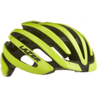 Lazer Z1 Helmet Flash Yellow w/Aeroshell Small