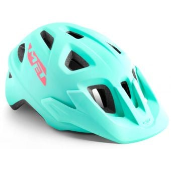 MET Eldar Youth Helmet Unisize Light Baby Blue/Matt