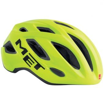 MET Idolo Road Helmet Safety Yellow Medium