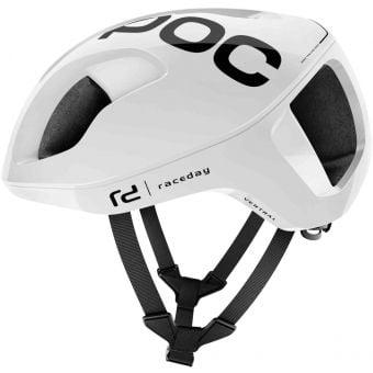 POC Ventral Spin Road Helmet Hydrogen White Raceday Small
