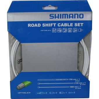 Shimano Optislick ST-5800 Road Shift Cable Set White