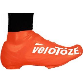 veloToze Short Shoe Covers Viz Orange 2016