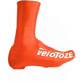 veloToze Tall Shoe Covers Viz Orange 2016