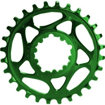 absoluteBLACK Round Direct Mount SRAM GXP Narrow Wide Chainring Green