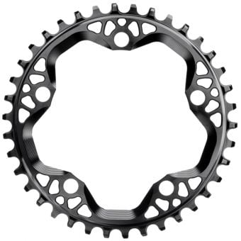 absoluteBLACK CX 110BCD 38T Traction Chainring Black