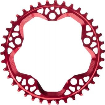absoluteBLACK CX 110BCD 42T Cyclocross Chainring Red