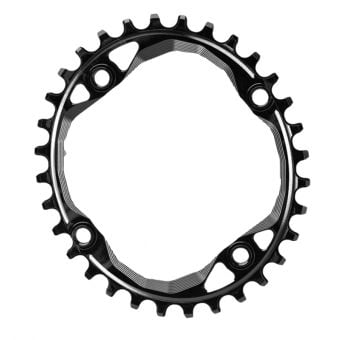 AbsoluteBLACK Oval 104 & 64BCD Narrow-Wide Traction Oval Chainring