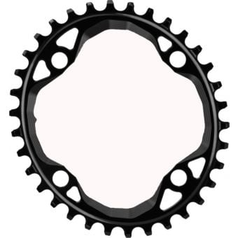 absoluteBLACK Oval 104BCD Narrow Wide 36t Chainring Black