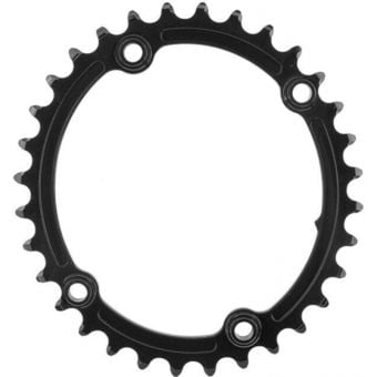 absoluteBLACK Oval 110BCD 4B 32t 2x Chainring Black