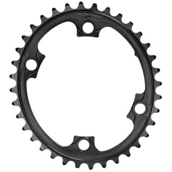 absoluteBLACK Oval 110BCD 4B 36t 2x Chainring Black