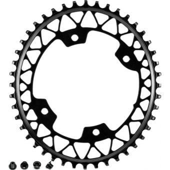 absoluteBLACK Oval 110BCD 44t 4B Chainring Black
