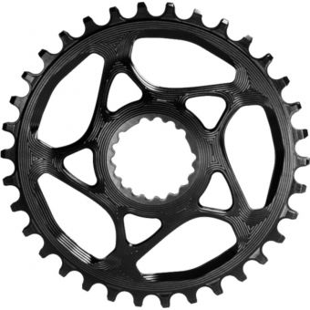 absoluteBLACK Oval Cannondale Direct Mount Narrow Wide Chainring Black