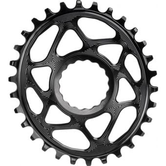 absoluteBLACK Oval Cinch D/M N/W 30T Traction Chainring Black