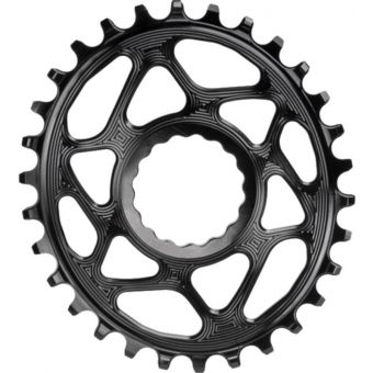 absoluteBLACK Oval Cinch Narrow Wide BOOST 30t Chainring Black