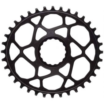 absoluteBLACK Oval Cinch Race Face DM N/W 36T Chainring Black