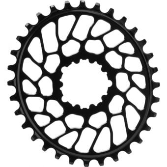 absoluteBLACK Oval D/M N/W BB30 Traction Chainring Black