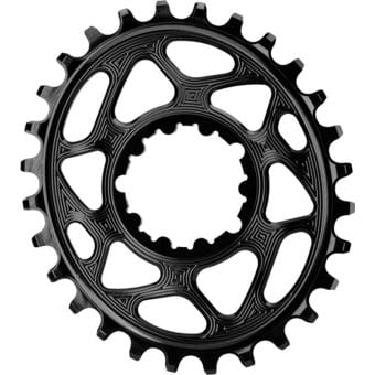 absoluteBLACK Oval SRAM GXP D/M 26T Traction Chainring Black