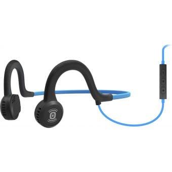 AfterShokz Sportz Titanium Headphones with Mic Ocean Blue