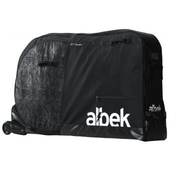 Albek Atlas 336L Wheeled Bike Transport Bag Black