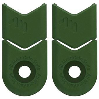 All Mountain Style AMS Crank Defender Set Green