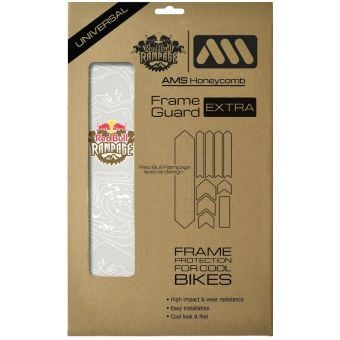All Mountain Style AMS Red Bull Rampage Extra Frame Protection Wrap White