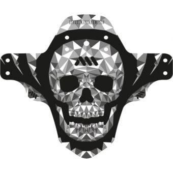 All Mountain Style AMS Mud Guard Grey Skull