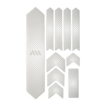All Mountain Style Honeycomb Frame Guard X-Large Drops/White/Clear