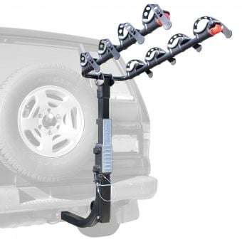 Allen Sports S-645 Premier Hitch 4 Bike Carrier (with Spare Tyre)