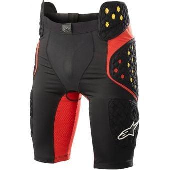 Alpinestars Bionic Pro Shorts Smoke Black/Red Medium