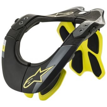 Alpinestars BNS Tech-2 Neck Brace Black/Yellow