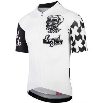 Assos ClubGearAero Speed Club Jersey White/Black 2020