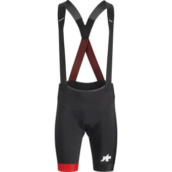 Assos Equipe RS S9 Bib Shorts National Red