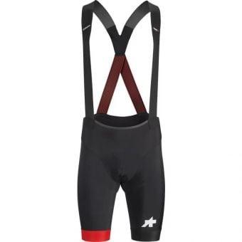 Assos Equipe RS S9 Bib Shorts National Red
