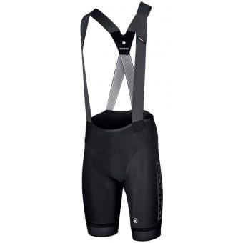 Assos Equipe RS S9 Works Team Bib Shorts Black/Grey 2021
