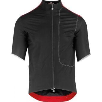 Assos Short Sleeve Liberty RS Thermo Rain Jersey Black