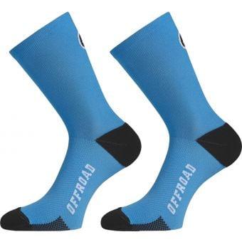 Assos XC Torpedo Socks Corfu Blue XX-Small/X-Small