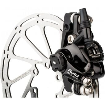 SRAM Avid BB7 MTN Front or Rear Cable Disc Brake Caliper Annodised Black w/160mm Rotor