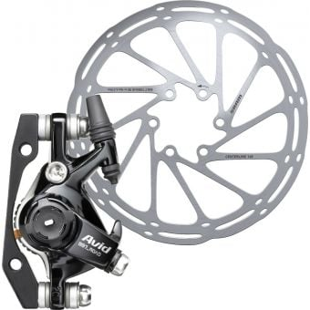 SRAM Avid BB7 Road S Front or Rear Cable Disc Brake Caliper Annodised Black w/160mm Rotor