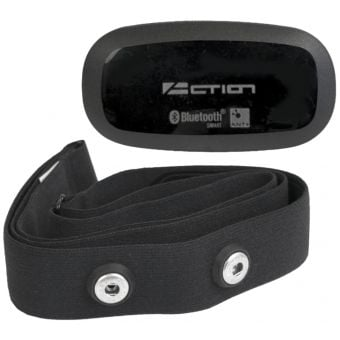 Azur Action BT/ANT+ Wireless Heart Rate Sensor + Strap Black