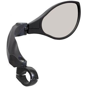 Azur Anti-Glare Bar Mount Optic Mirror Black