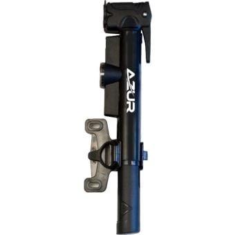 Azur Bora Dual Head Mini Pump w/Gauge Black