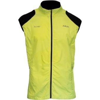 Azur Buckler Soft Shell Vest Yellow