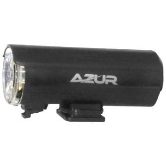Azur Duo Helmet Light 75lm Front 4lm Rear USB Black