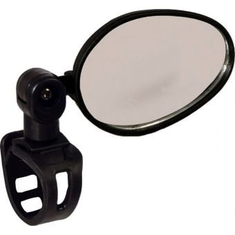 Azur Eagle Bar Mount Flat Bicycle Mirror Black