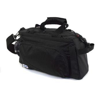 Azur Expandable Rack Top Bag Black