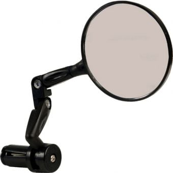 Azur Falcon Bar End Convex  Bicycle Mirror Black