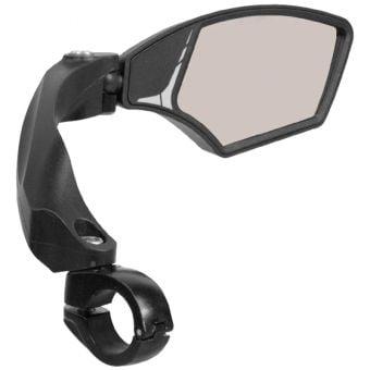 Azur Focus Bar Mount Anti-Glare Bicycle Mirror Black